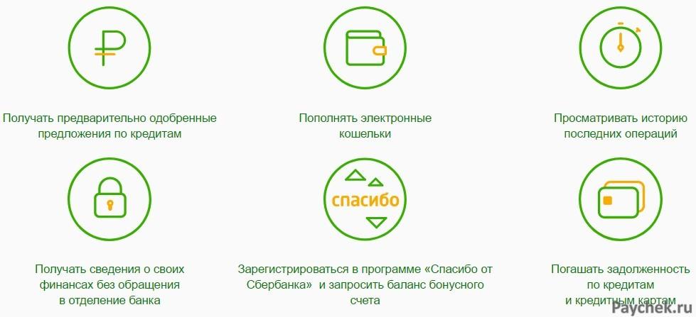 Достоинства Мобильного банка от Сбербанка